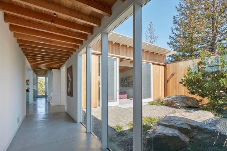 Просторное ранчо на севере Калифорнии по проекту Malcolm Davis Architecture (фото 4)