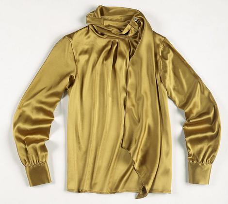 атласная блуза Etro