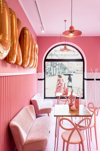 Вишенка на торте: розовое кафе в Лешно (фото 3.1)