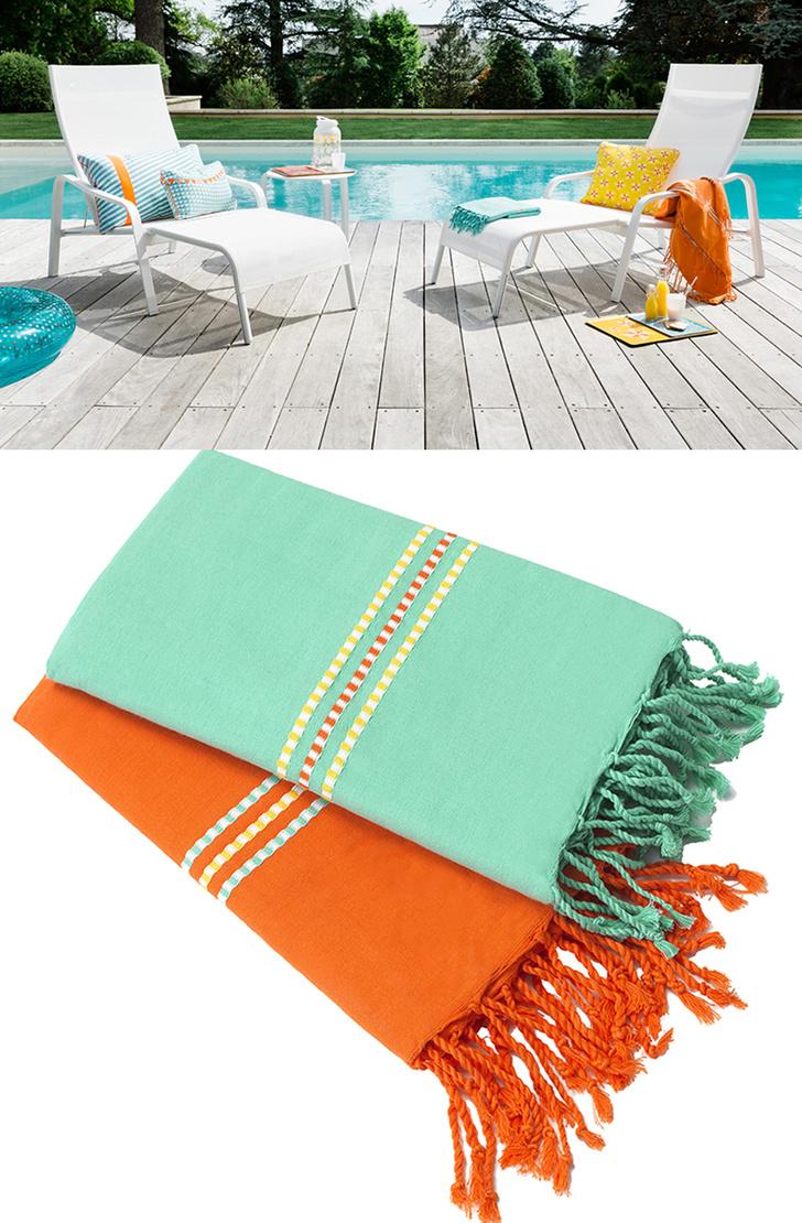 Топ -- 10: Самые модные пляжные полотенца и аксессуары (фото 8)