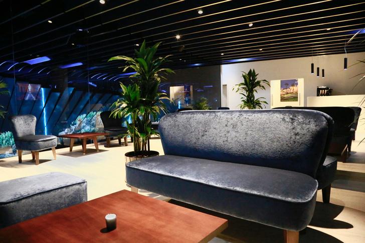 Chelini Pavillon Monaco VIP-lounge