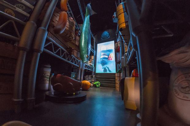 «Рататуй: Приключение », Disneyland, Париж, Франция