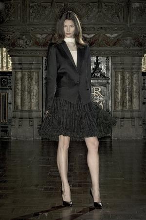 Показ Anne Valerie Hash коллекции сезона Весна-лето 2009 года Haute couture - www.elle.ru - Подиум - фото 86218