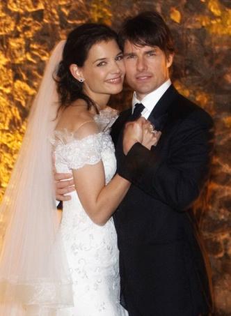 Том Круз и Кэти Холмс свадьба