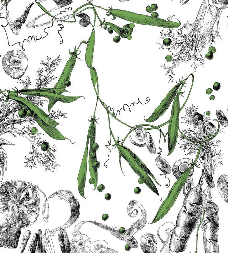 Праздник урожая: овощи и фрукты на предметах декора (фото 13)