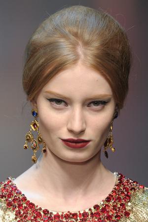 Показ Dolce & Gabbana коллекции сезона Осень-зима 2013-2014 года Prêt-à-porter - www.elle.ru - Подиум - фото 529743