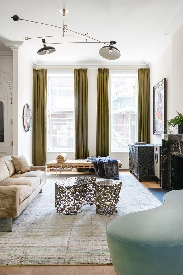 Классический интерьер дома в Бруклине (фото 3)