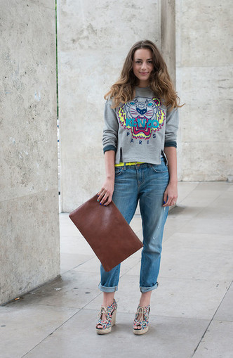 Back to 90s: 5 способов носить mom-джинсы (фото 18)