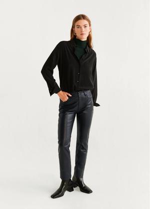 Кожаные брюки: какие купить и с чем носить (фото 14.2)