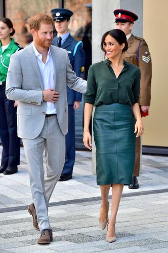 Принц Гарри и Меган Маркл прибыли в Чичестер с официальным визитом (фото 2.1)
