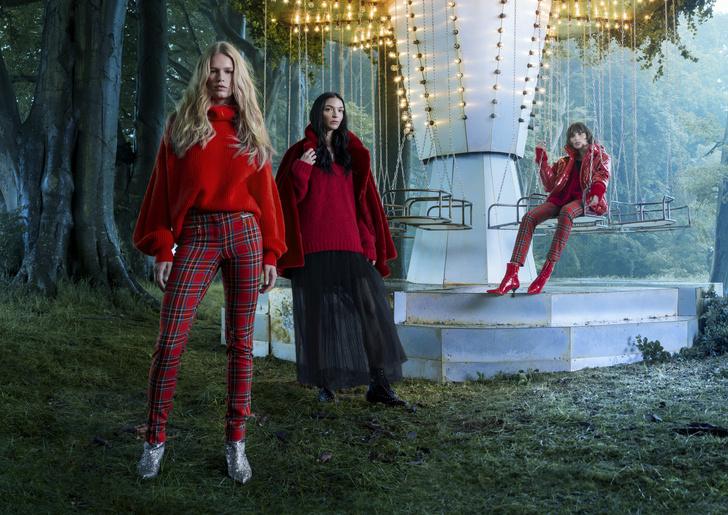 Ники Минаж снялась в рождественской кампании H&M фото [7]