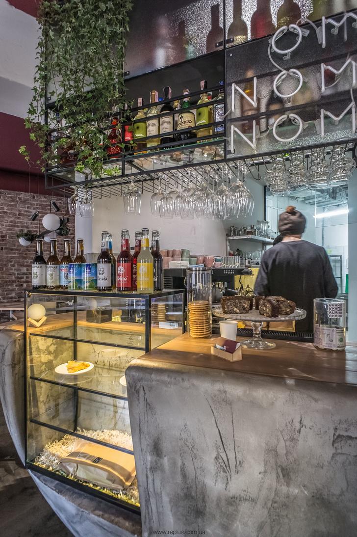 Веганское кафе OMNOMNOM в Львове (фото 11)