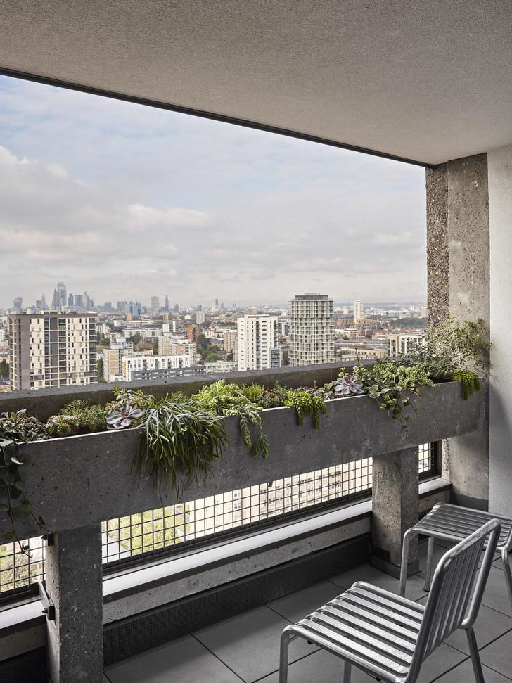 В лондонской Balfron Tower открыли две шоу-квартиры с обстановкой (фото 1)