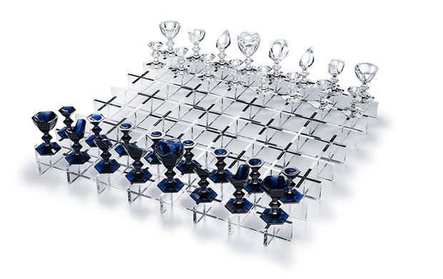 Шахматы, юбилейная коллекция, дизайн студии Nendo, 2014 год.