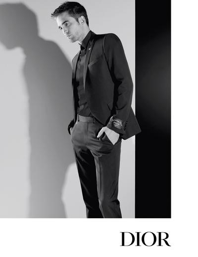 Роберт Паттинсон в рекламной кампании Dior Homme (галерея 1, фото 0)