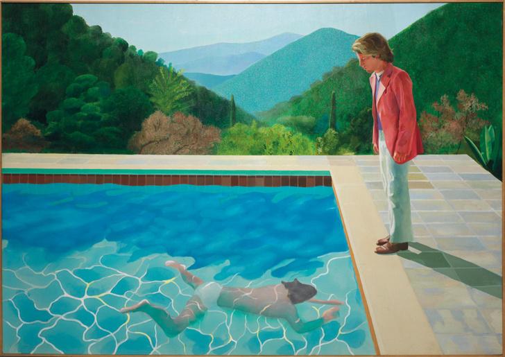 «Портрет художника» Дэвида Хокни будет продан с торгов (фото 0)