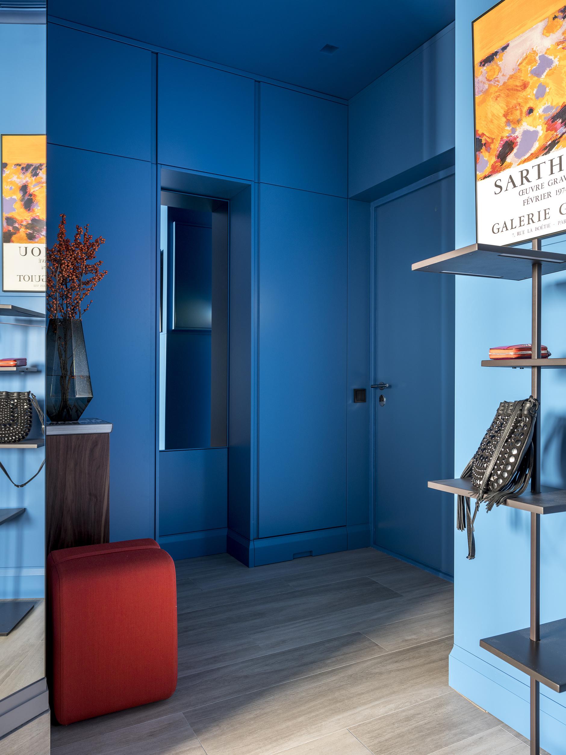 Синий цвет в интерьере: 30+ проектов (галерея 1, фото 2)