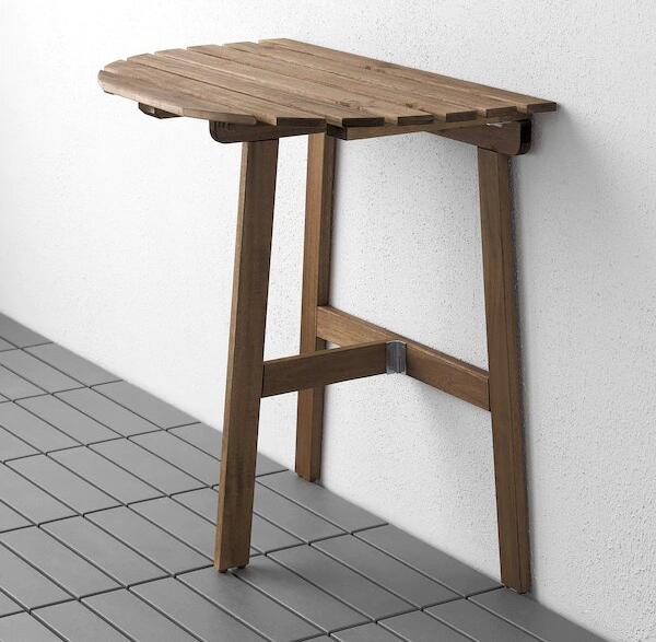 Компактная мебель и аксессуары для небольшого балкона (фото 8)
