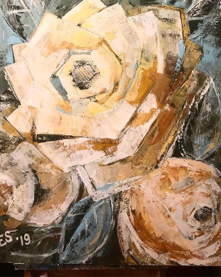 Выставка Елены Сотниковой в Oli Oli Gallery (фото 3)