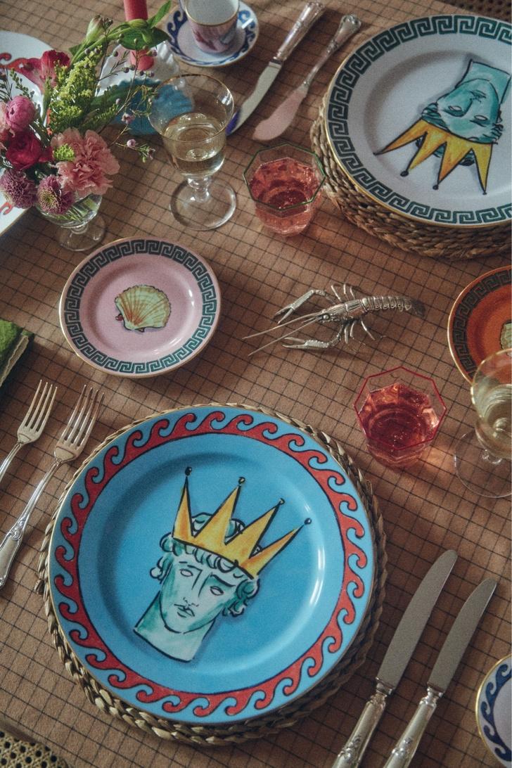 Коллекция посуды Il viaggio di Nettuno от Люка Эдварда Холла и Richard Ginori (фото 0)