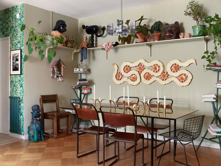 Креативная квартира стилиста и модели Урсулы Венгадер (фото 6)