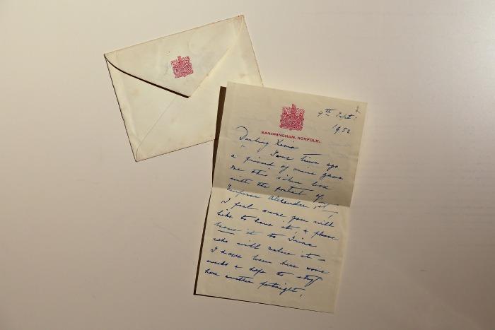 Личное письмо сестре Николая II Великой княгине Ксении Александровне