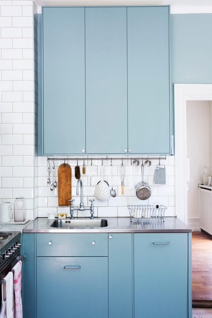 Голубая мечта: дом шведской художницы Гуннель Салин (фото 17)