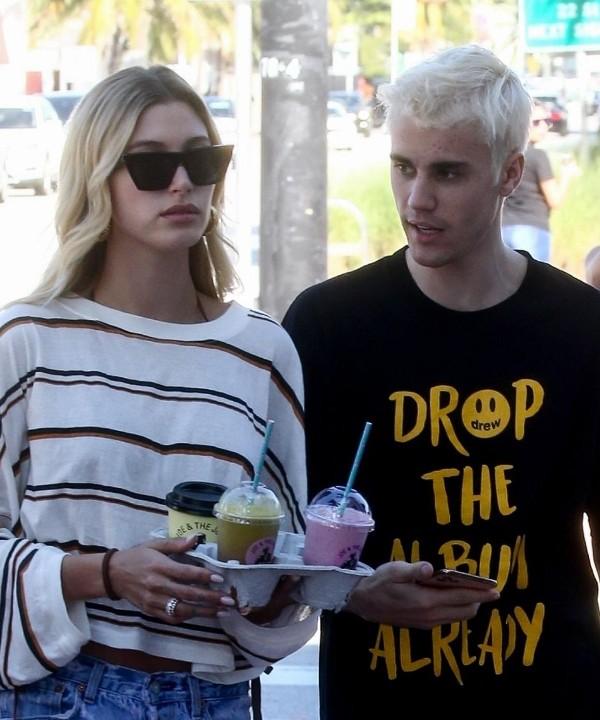 Ланч миллениалов: Джастин и Хейли Бибер в Калифорнии