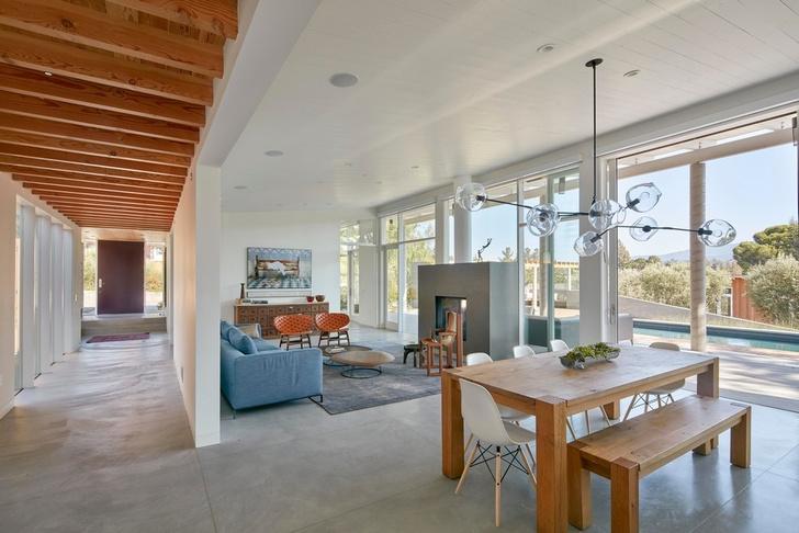 Просторное ранчо на севере Калифорнии по проекту Malcolm Davis Architecture (фото 9)
