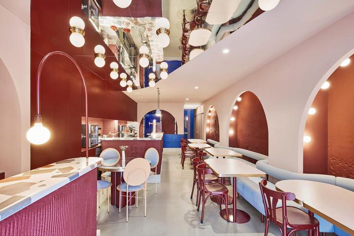 Модный ресторан El Camerino в Валенсии (фото 0)