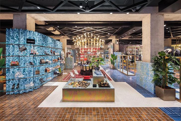 Бутик-головоломка Flannels в Лондоне (фото 2)