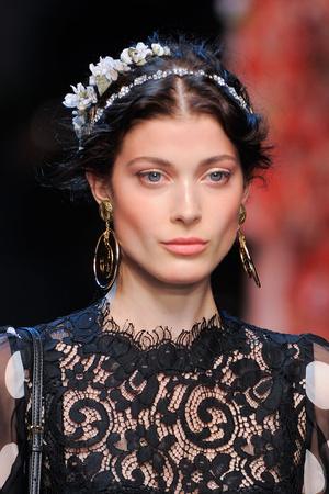 Показ Dolce & Gabbana коллекции сезона Весна-лето 2014 года prêt-à-porter - www.elle.ru - Подиум - фото 566308