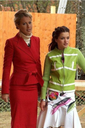 От ведущей «Дома-2» до кандидата в президенты: как развивалась карьера Ксении Собчак фото [3]