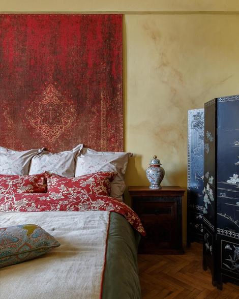 Необычные изголовья: 10 советов и идей для вашей спальни (фото 32)