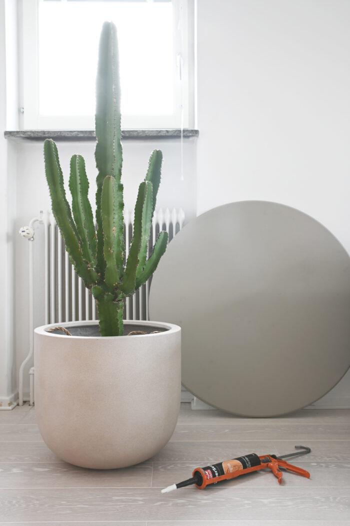 Мастер-класс: стильный столик из цветочного горшка (фото 2)