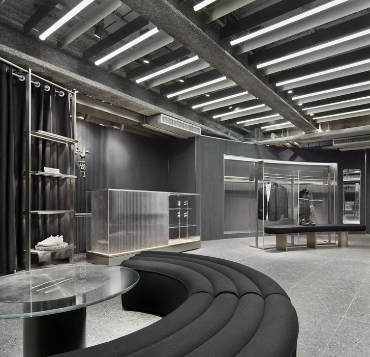 Футуристичный бутик в Гонконге из неперерабатываемых материалов (фото 3)