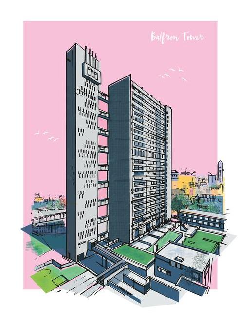 В лондонской Balfron Tower открыли шоу-квартиры с обстановкой (галерея 7, фото 4)