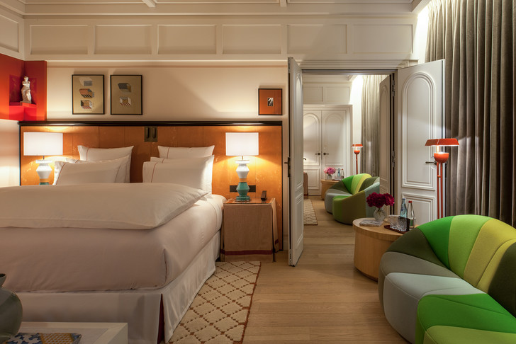 Sinner: новый отель в самом сердце Парижа (фото 13)