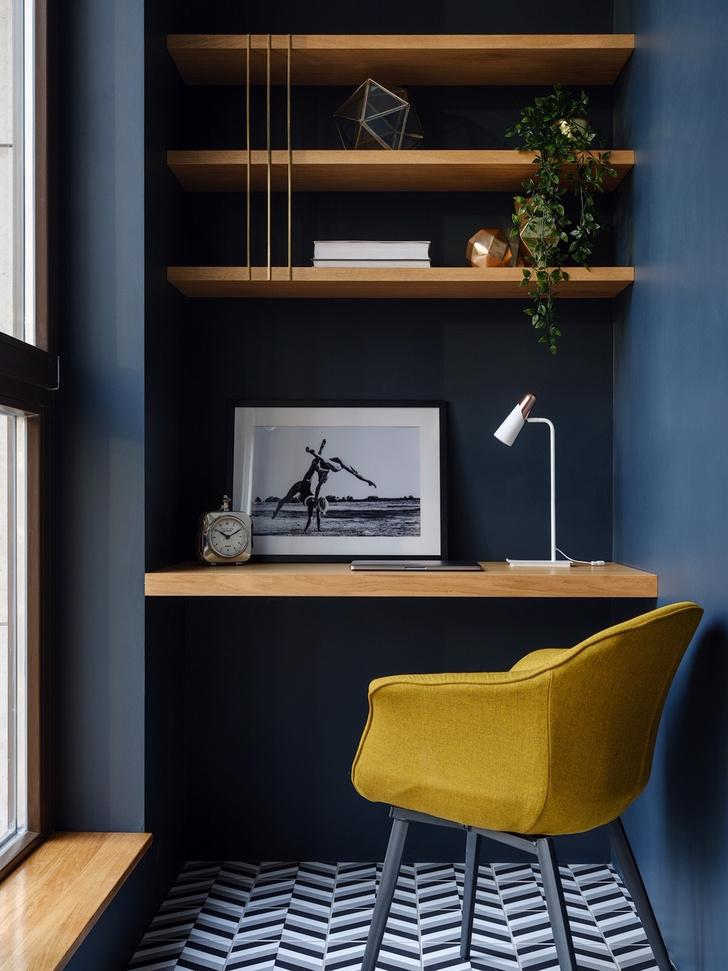 Современный минимализм: квартира 48 м² в Москве (фото 9)