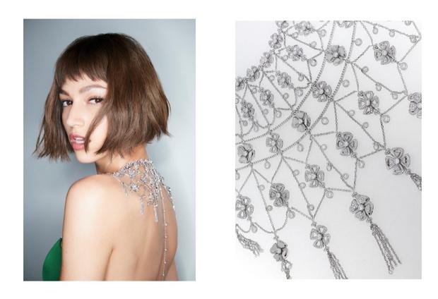 Что нужно знать про бриллиантовые цветы   Bvlgari и как их носить (фото 1)