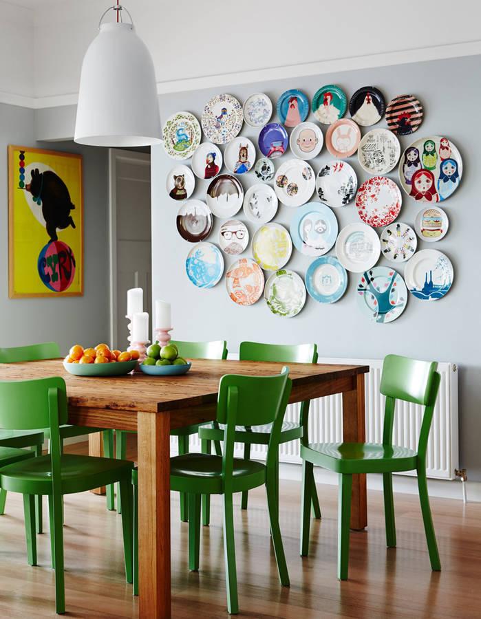 декор стен своими руками на кухне фото