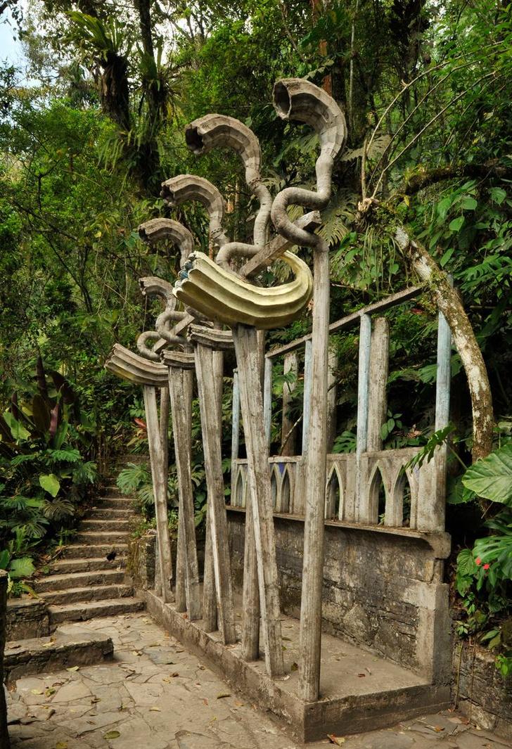 Las Pozas: cюрреалистический парк в мексиканских джунглях (фото 2)