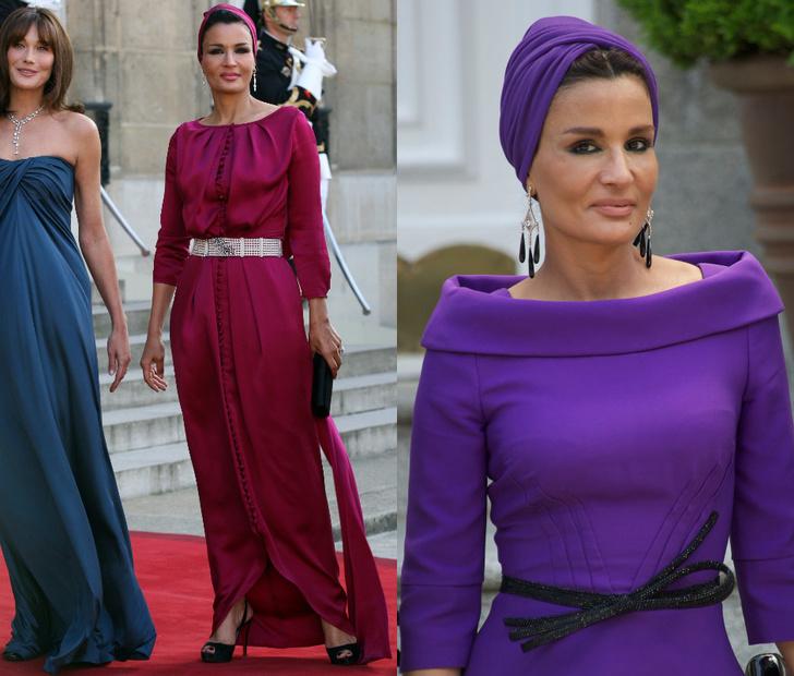 Катарская принцесса Шейха Моза бинт Насер Аль Миснед