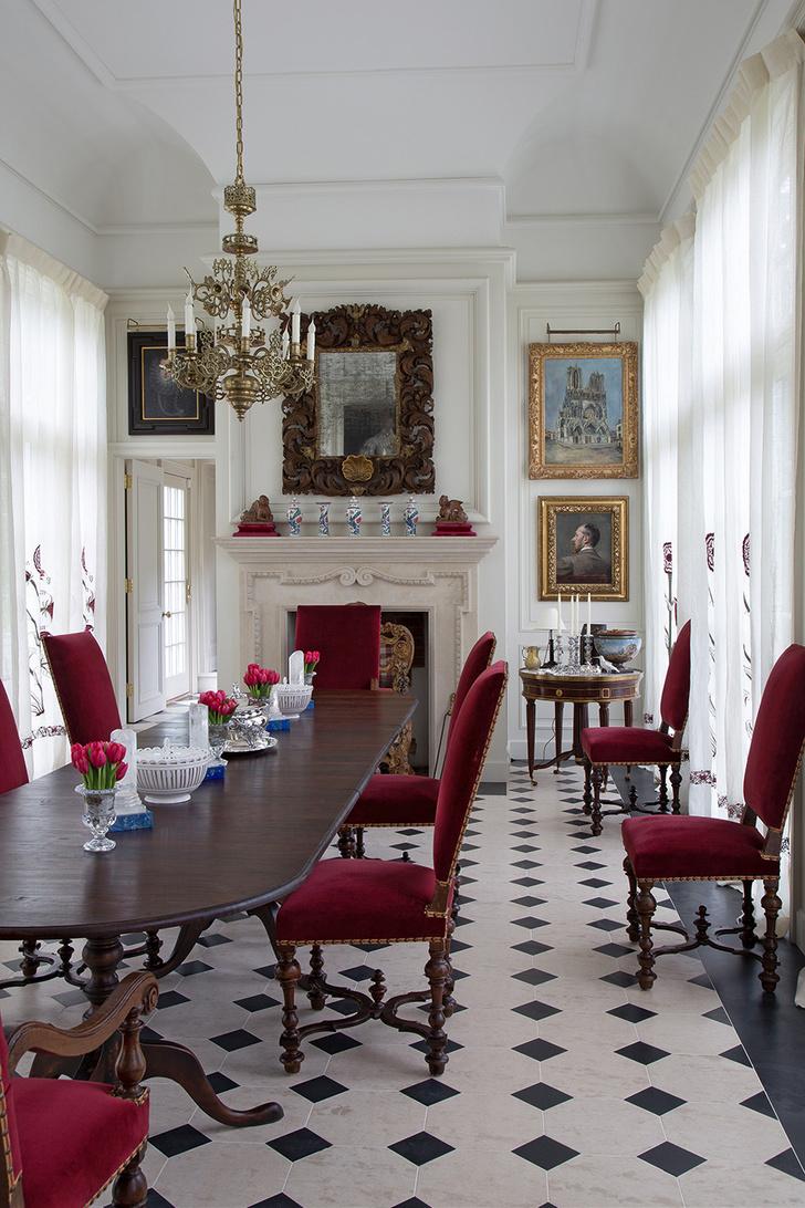 Французская классика в современном доме фото [5]