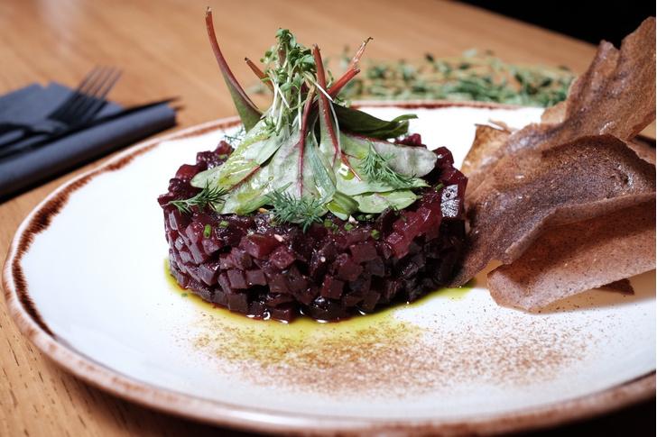 13 экстравагантных постных блюд в ресторанах Москвы (фото 16)