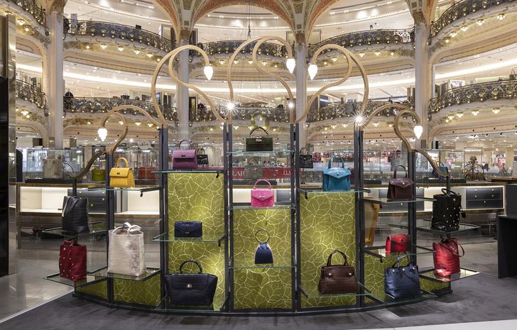 Pop up бутик Ethan K в Galeries Lafayette от Хуана Пабло Молино (фото 0)