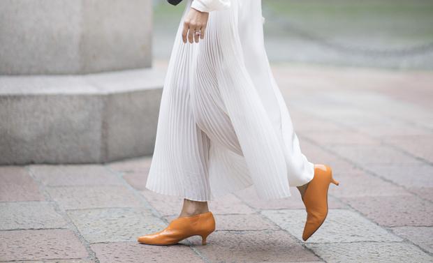7 причин купить самые модные ботильоны kitten heels (фото 23)