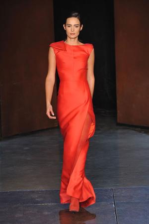 Показ Lefranc Ferrant коллекции сезона Весна-лето 2010 года Haute couture - www.elle.ru - Подиум - фото 139120