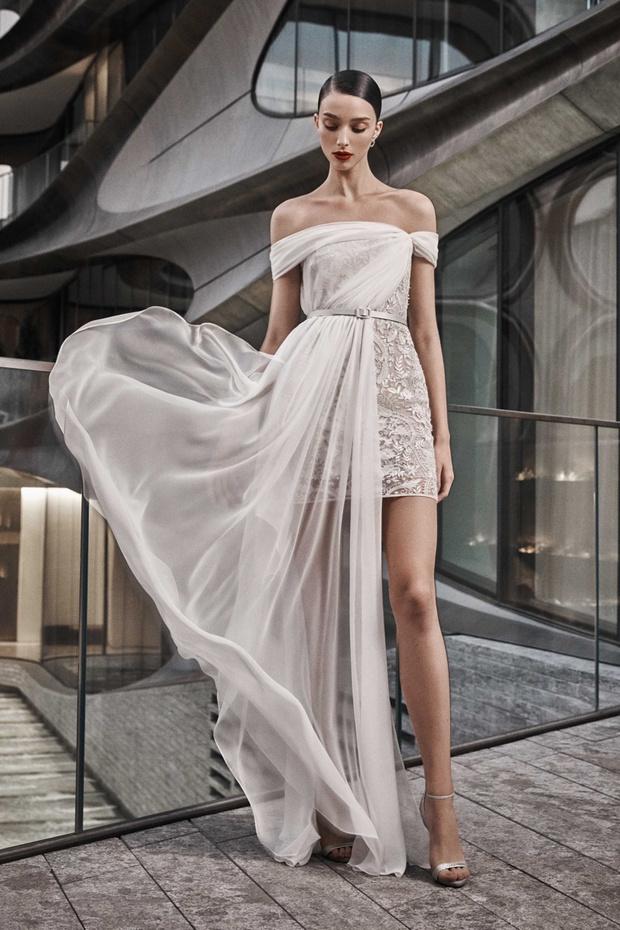 16 платьев из новой свадебной коллекции  Naeem Khan (фото 6)