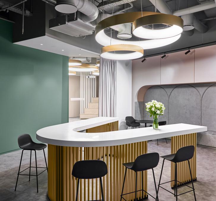 Офис L'Oréal по проекту IND Architects в Москве (фото 10)